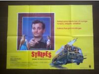stripes ' plus ' stripes / private benjamin ' two original film posters