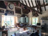 4/5 Bed Cotswold stone converted barn in popular village with access to open countryside