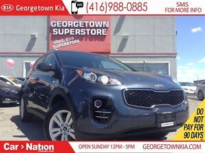 2017 Kia Sportage LX | ONLY 7,798KMS | ALL WHEEL DRIVE | BACK UP