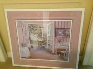 """Print by Patricia Downie """"French Doors"""" London Ontario image 1"""