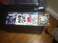 PS3 (500GB) 375$ With Games!!!