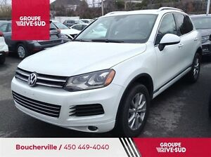2014 Volkswagen Touareg 3.6L Highline**CUIR**GPS**