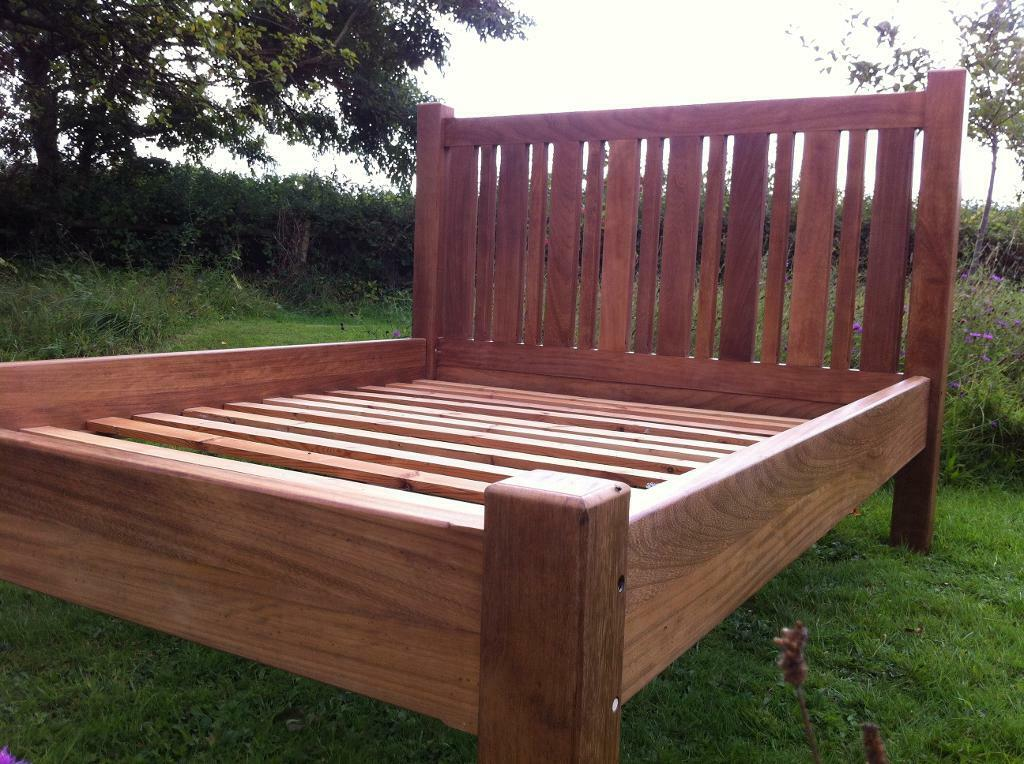 King sized solid wood bed with buy sale and trade ads for Raw wood bed frame