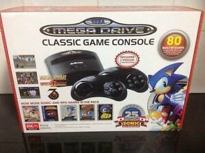 Sega Mega Drive Classic includes 80 games Coomera Gold Coast North Preview