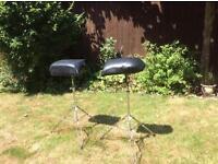 Drum seats adjustable