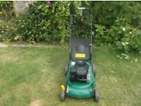 40cm Self Propelled Lawnmower Serviced Briggs & Stratton Engine