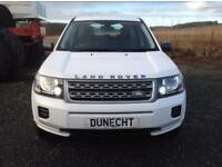 Land Rover Freelander 2 TD4 GS (white) 2013-05-25