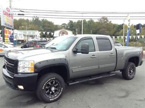 2009 Chevrolet SILVERADO 2500HD LTZ,DURAMAX DIESEL,LEATHER,CREW