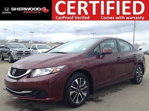 2013 Honda Civic EX | REMOTE START | BLUETOOTH | SUNROOF | BACK