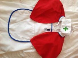 Nurses dressing up costume age 3-6