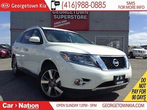 2015 Nissan Pathfinder PLATINUM NAVI| DVD| BACK UP CAM| LEATHER|