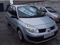 Renault Scenic authentique 16v MPV,only 56,000 miles FSH,showroom condition,drives as new