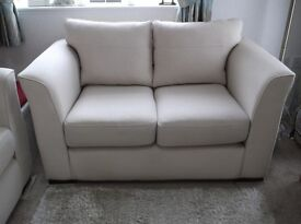 2 x2 seater sofas plus Canterbury draw unit 1 year old
