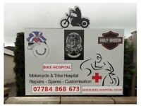 Motorcycle and Trike Service, Repair and Customising Airdrie