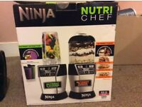 NEW Ninja Nutri Bowl Duo Chef with Auto-iQ 1200W Blender