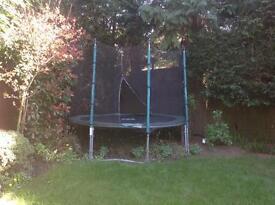 TP 10ft Trampoline + Enclosure