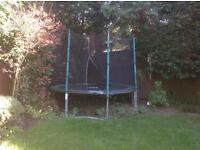 TP 10ft Trampoline + Enclosure