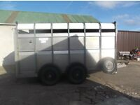 12 x 6 Ifor Williams Cattle Trailer
