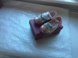 PINK BABY SHOES, SIZES 3, 4, 5, 6 and 7.