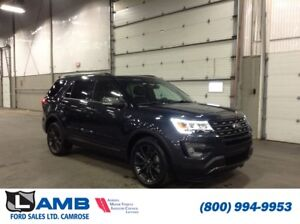 2017 Ford Explorer XLT 4WD with XLT Technology, XLT Appearance a