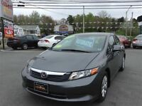 2012 Honda Civic LX-G,AUTO/AIR,ONLY 42,000KMS,ONE OWNER CAR!!!