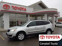 2015 Chevrolet Traverse LS NEW TIRES AWD 8 PASSENGER REAR AIR