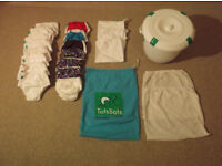 Tostbots Reusable Training Pants - Size 1 x 7 pairs; Size 2 x 8 pairs & accessories