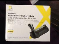 Pro series multi power battery grip