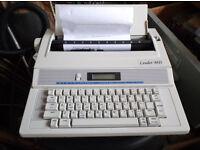 Leader MD electric typewriter
