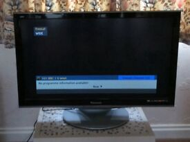 "PANASONIC Veira 37"" HD /FREEVIEW TV"
