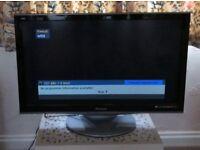 "PANASONIC Veira 37"" HD /FREEVIEW TV"