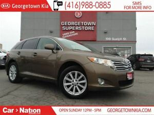 2011 Toyota Venza 4 CYL | AWD | ALLOYS | POWER SEATS | BLUETOOTH