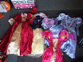 princess dresses girls dress up clothes age