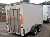 Twin Wheel 3500kg box trailer