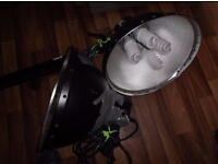 2 x interfit super cool-lite 5 heads (no stands and well used)