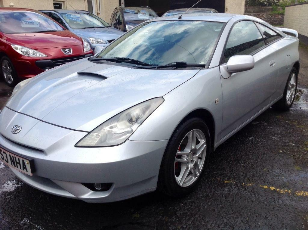 2003 53toyota celica 1 8 vvti coupe silver trade to clear. Black Bedroom Furniture Sets. Home Design Ideas