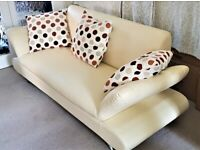 Retro Leather Sofa Set - 3 Seat - 2 Seat - Chair