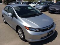 2012 Honda Civic LX-Another great car you can believe in.