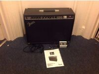 Fender FM212R Guitar Amp / 100W /2x12in Speakers / Reverb + Drive / Footswitch+Instructions