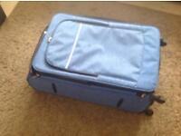 Large blue expanding case