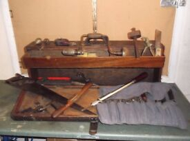 JOINERS BOX & TOOLS