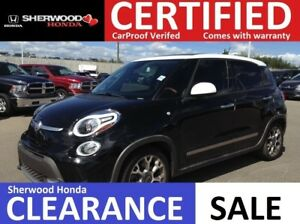 2014 Fiat 500L Trekking| REMOTE START|NAVI|HEATED SEAST