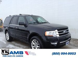 2016 Ford Expedition Limited 301A Moonroof Navigation Power Lift