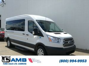 2017 Ford Transit Wagon XLT with Navigation, Lane Departure and