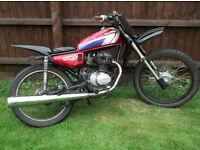 Honda 125 field bike custom L@@K £300