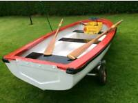 Rowing boat for sale! free pair of oars
