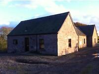 To Let - 3 bedroom country cottage in Carmyllie, close to Arbroath