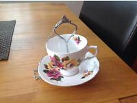 Vintage Tea Cup and Saucer Bird Feeder(s)