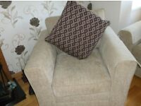 3 seater, 2 seater & 1 chair suite in great condition.