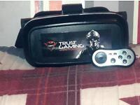 Virtual reality with Bluetooth controller for phones only. COLLECTION ONLY